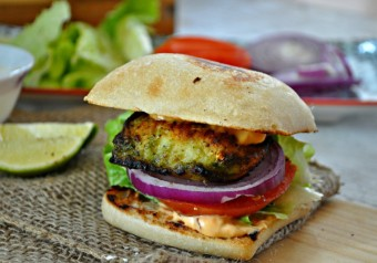 Char-Broiled Chutney Fish Sliders
