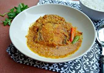 Doi Machh ( Fish in an Aromatic Yogurt Sauce)