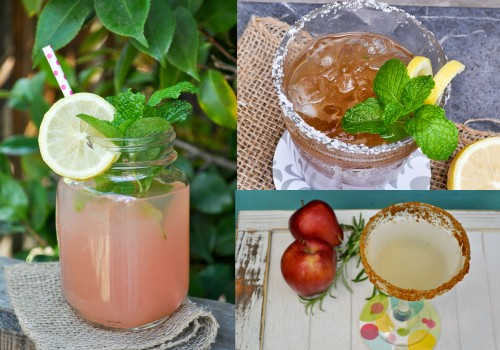 3 Party Cocktails – Tamarind Mint Margarita, Tranquilo and a Cidertini