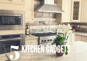 What are the 5 Gadgets I have on my Kitchen Counter?