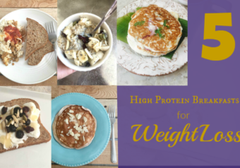 5 High Protein Breakfasts for Weight Loss