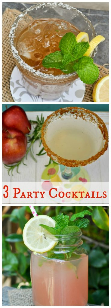 3 Party Cocktails
