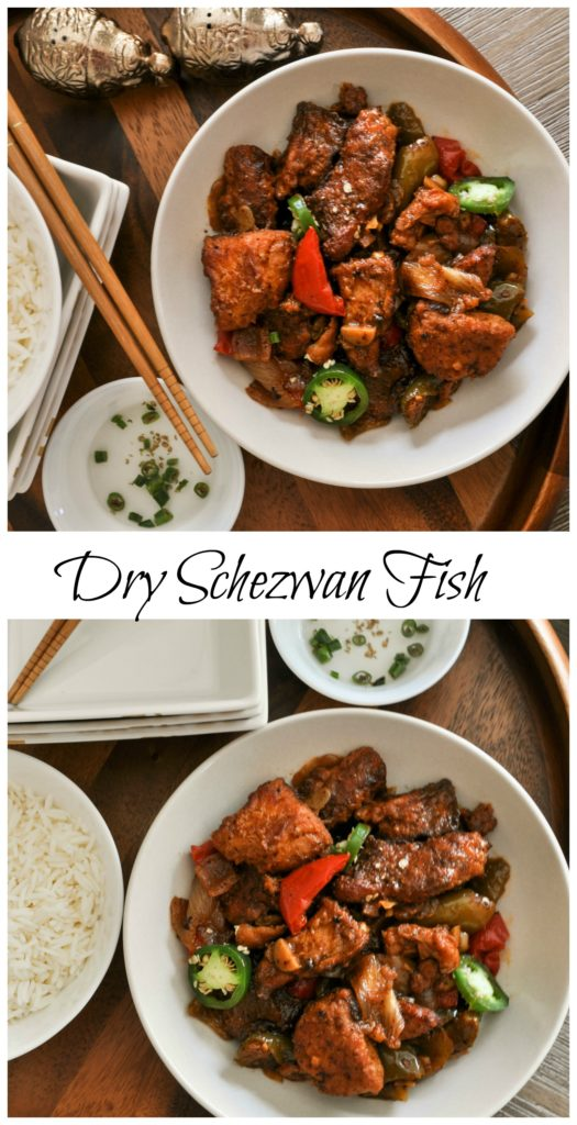 Party Appetizer - Dry Schezwan Fish