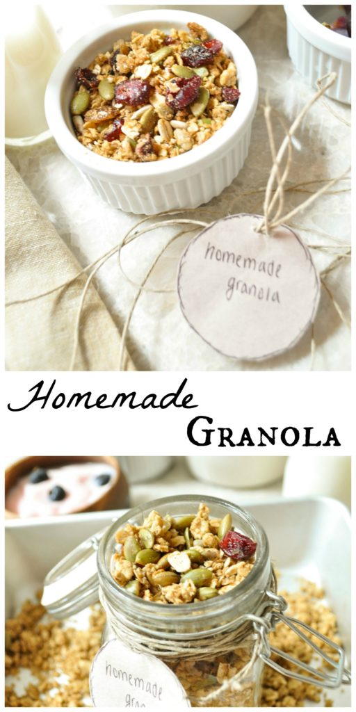 Homemade Granola for those little hunger pangs!