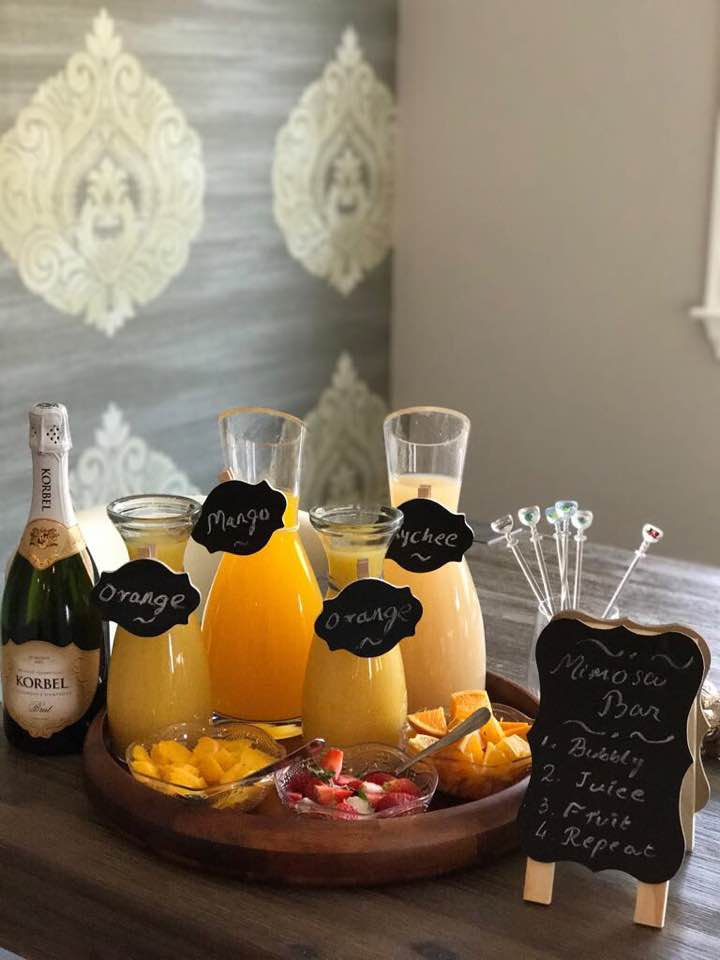 Party Planning Tips - Mimosa Bar