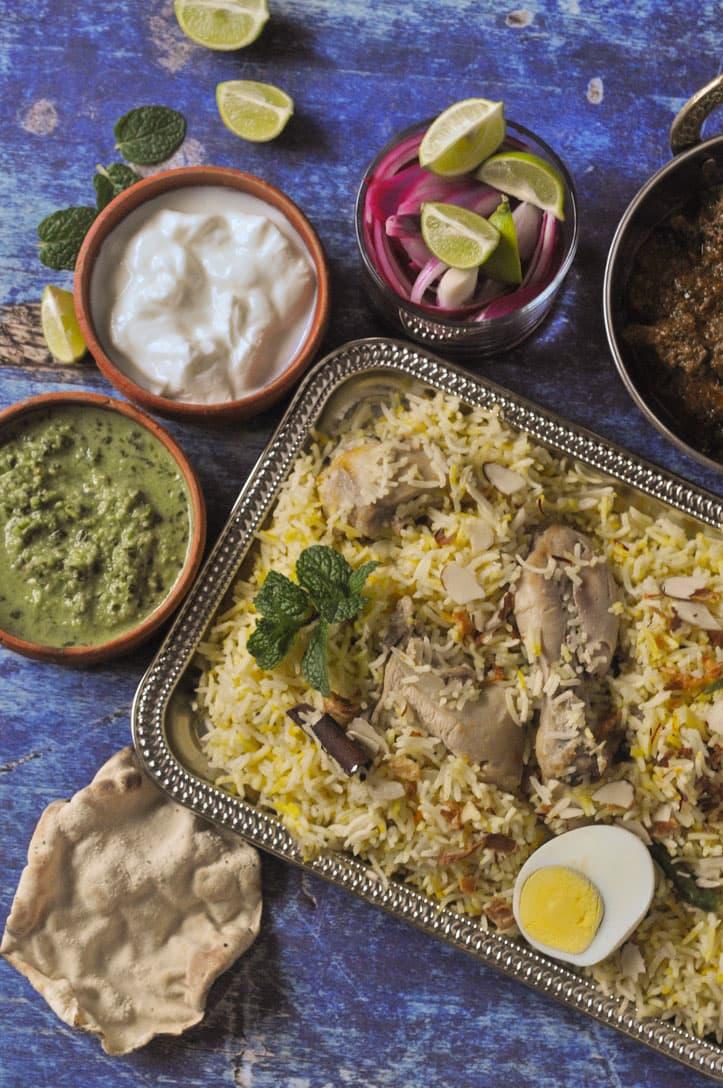 Sofiyani Biryani Recipe White Biryani With Saffron